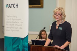 Dr Pamela Levack speaking at the PATCH National Launch