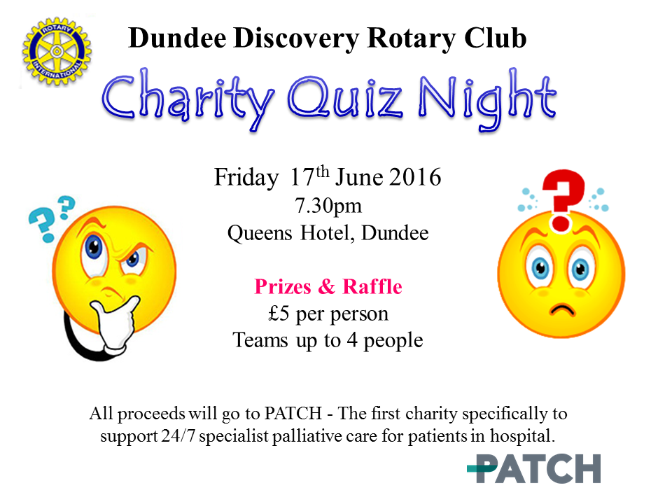 Rotary Quiz 17th June 2016